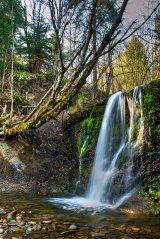 wodospad - Bieszczady